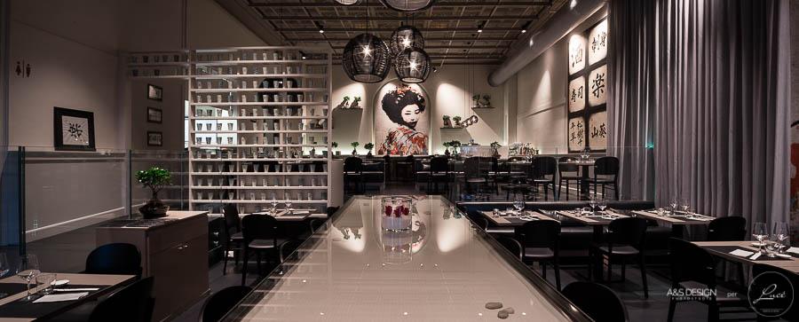 Luce torino illuminazione ristorante giapponese shabu progettista illuminotecnico architetto